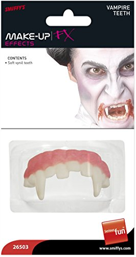 Smiffys Make-Up FX, Horror Vampire Teeth -