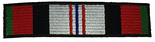 OPERATION ENDURING FREEDOM CAMPAIGN RIBBON PATCH - Multi-Color - Veteran Owned Business