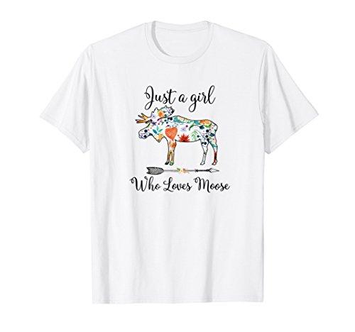 Cute Funny Moose tee shirt ()
