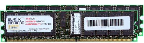 261583-031-BD 256MB RAM DDR-266 ECC Registered RDIMM 184pin 2.5V Black Diamond Memory Module