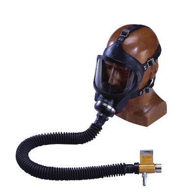 (MSA 460863 Constant Flow Air-Line Respirator Complete Assembly, Ultravue Facepiece, Snap-Tite Aluminum )
