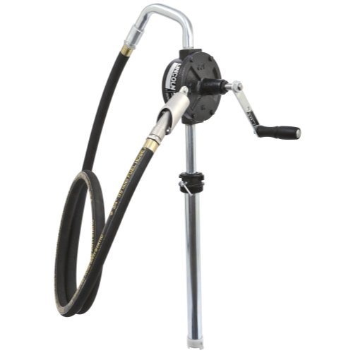 7.75' Overall (Lincoln Lubrication 1385H Premium 3-Vane Rotary Pump with Hose)