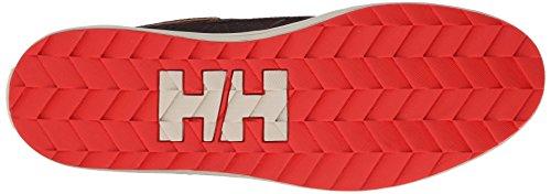 Helly Hansen Vorse Mid 2, Zapatillas de Deporte para Hombre Marrón / Beige / Rojo