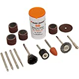 BLACK+DECKER RT1022 Rotary Tool Accessory Kit, 63-Piece