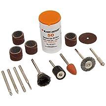 Black & Decker RT1022 Rotary Tool Accessory Kit, 63-Piece