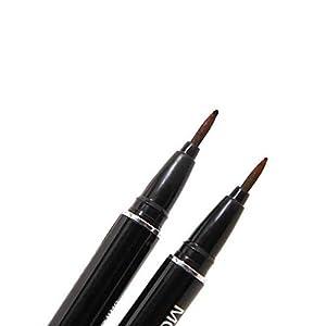 Turelifes Tattoo Eyebrow Pen Lasting Waterproof Brow Pencil Eyes Makeup (Dark brown)