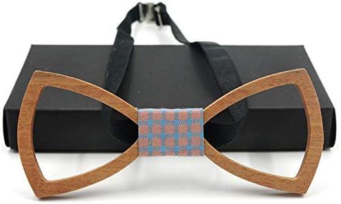 Corbata de lazo de madera para hombre Corbata de lazo de madera ...