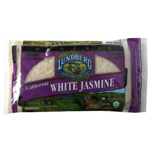 Lundberg California White Jasmine Rice Organic 2 LB (Pack of 18) by Lundberg
