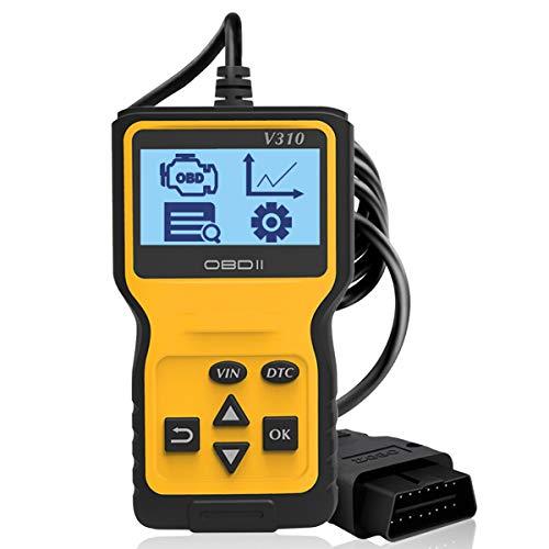 GEMWON V310 OBD2 Scanner Automotive Engine Fault Code Reader OBDII Diagnostic Tool Auto Scanner for All 1996+ Vehicles