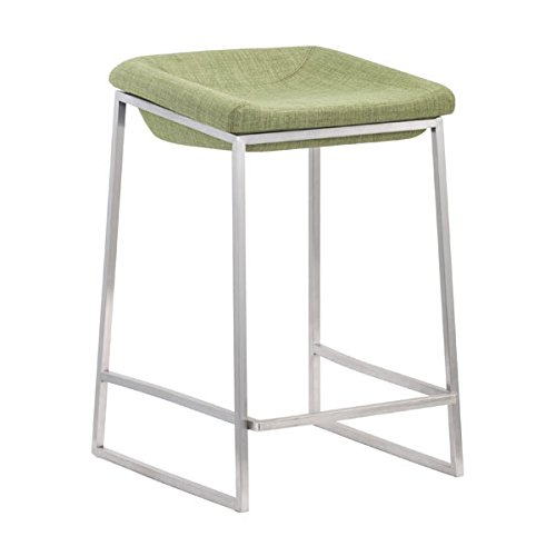 Zuo Lids Counter Stool (Set of 2), Green Review