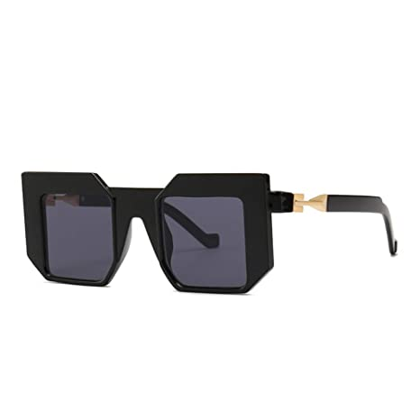 Amazon.com : YLNJYJ Brand Designed Future Square Sunglasses ...