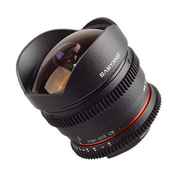 Samyang SAMTNIKON Objetivo mm T Fisheye VDSLR para Nikon APS C