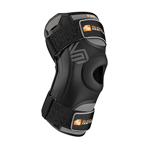 Shock Doctor Knee Stabilizer with Flexible Support Stays (Black, X-Large)