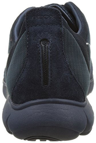Geox Men's U Nebula F Low-Top Sneakers, Rock Blue (Navyc4002 C4002)
