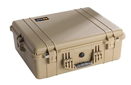 Pelican 1600 Camera Case With Foam (Desert Tan) by Pelican