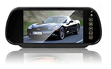 Estilo de Coches Pantalla TFT Pantalla LCD Auto Monitor de 7 Pulgadas Coche Monitor Pantalla para Marcha atrás Copia de Seguridad cámara ...