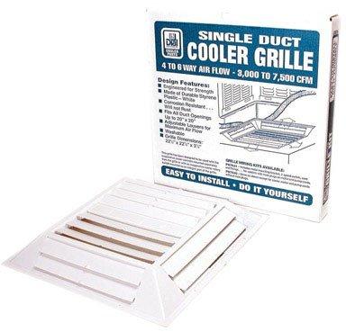 DIAL 7637 6W Plastic Ceil Grille