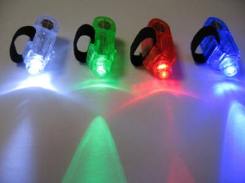 - 20 Super Bright Finger Lights for Party - LED Rave Finger Lights