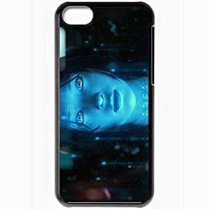 Personalized iPhone 5C Cell phone Case/Cover Skin Halo 4 Black