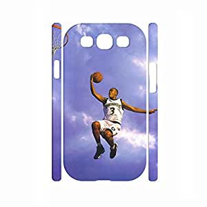 Colorful Frame Glossy Funny Basketball Player Shot Series Phone Accessories Skin for Samsung Galaxy S3 I9300 Case