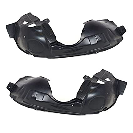 New Front Left and Right Pair FENDER LINER For Jeep Liberty