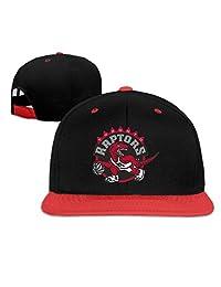XHS503hgty Toronto Raptors Boys and Girls Hip-Hop Baseball Cap Adjustable Cap