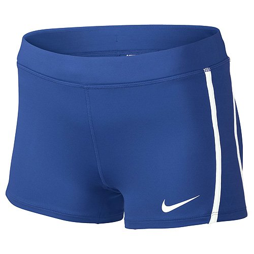 Nike Womens Running Tempo Boy Short Blue cNXe3d