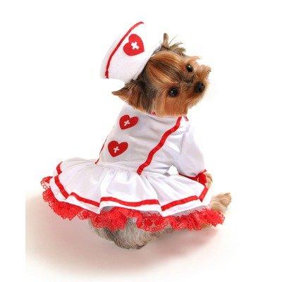 Cutie Nurse Dog Costume Size: Large (16″-20″ L), My Pet Supplies