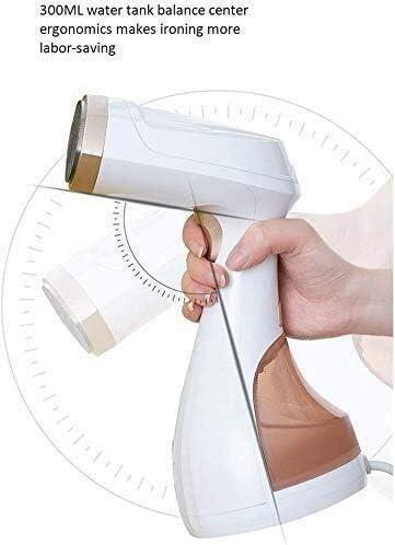 RENXR 1500W Vapeur Puissant vêtement Ordinateur de Poche Les vêtements à Vapeur 25S Rapide à Chaud 300ml Réservoir d'eau pour Toutes Sortes de vêtements en Tissu