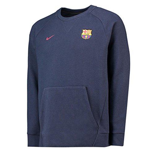 Nike 2018-2019 Barcelona Authentic Venue Crew Sweatshirt ()