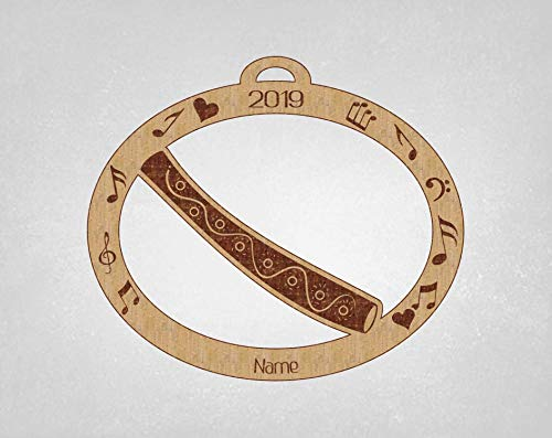 Didgeridoo Personalized single sided ornament. What a great gift idea for the Didgeridoo player you know. Didgeridoo gift, Didgeridoo Christmas gift, Didgeridoo Ornament, Didgeridoo Christmas. Every Ornament comes in its own gift box. This ornament i...