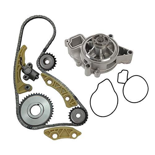MOCA Timing Chain Kit Water Pump for 2002-2009 Saturn Aura Sky & Vue & Chevrolet Cobalt & HHR Oldsmobile Alero 2.2L 2.4L L4 16V DOHC F 5