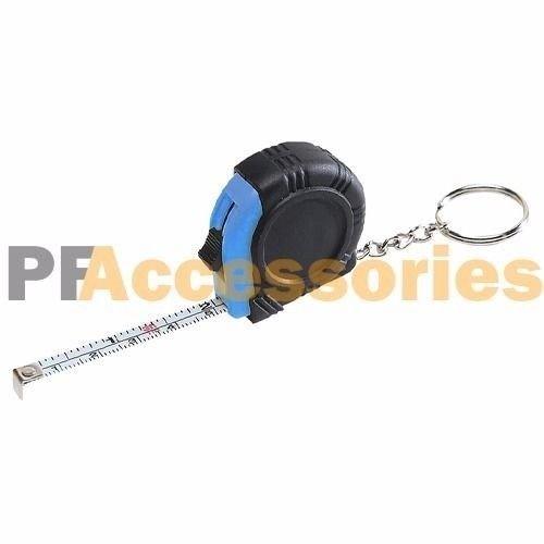 3 FT 1/4'' Key Chain Mini Pocket Size SAE & Metric Measure Tape Assorted Color
