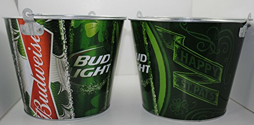 Budweiser Bud Light Irish Happy St. Pat's Beer Ice Bucket (Light Irish Beer)