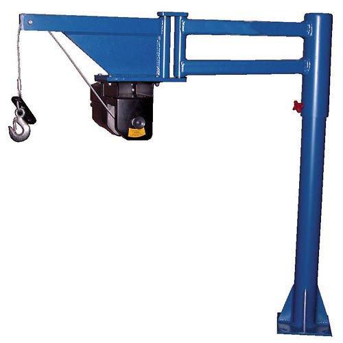 Swing Arm Crane (Vestil Low-Profile DC Powered Lift Van & Truck Jib Crane VAN-J-DC 400 Lb. Cap.)