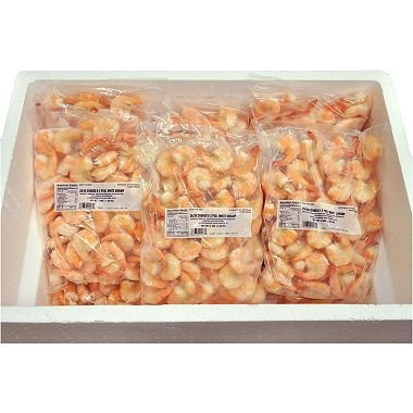 EZ Peel Large Cooked Shrimp (30 lb.) by Tampa Bay Fisheries
