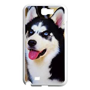 Husky Discount Personalized Cell Phone Case for Samsung Galaxy Note 2 N7100, Husky Galaxy Note 2 N7100 Cover