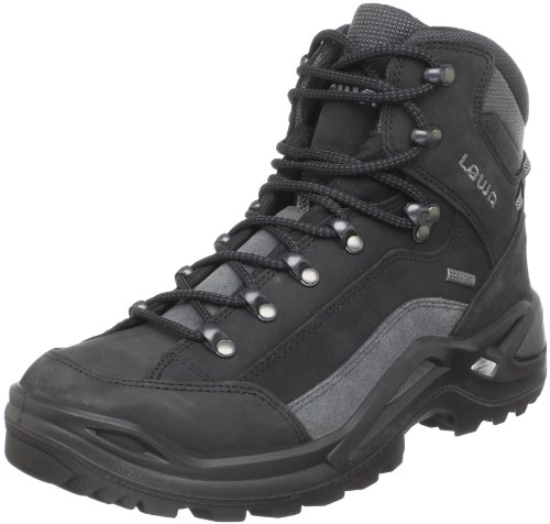 GTX Lowa Men's Grey Mid Hiking Black Renegade Boot rEUw7E