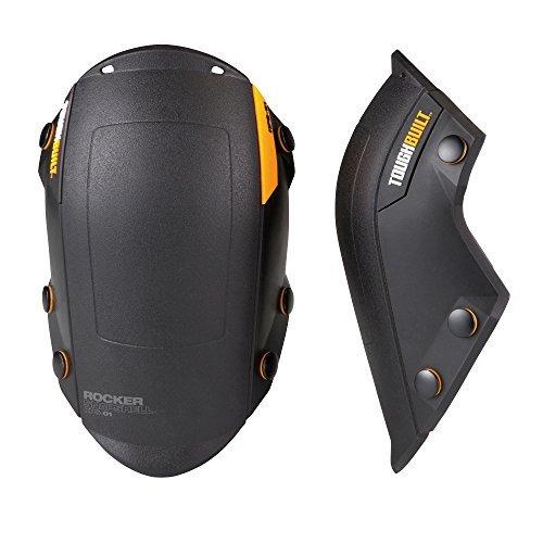 (TOUGHBUILT TOU-KPS-01 Rocker Snap Shell Knee Pads by ToughBuilt)