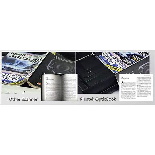 Plustek OpticBook A300 Plus Flatbed Scanner - 600 dpi Optical - 48-bit Color - 16-bit Grayscale - USB by Plustek (Image #2)