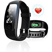 Fitness Tracker with Heart Rate Monitor, DBFIT Activity...