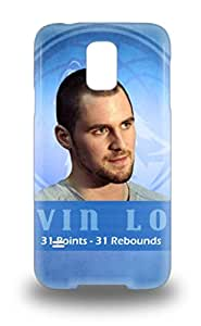 New Premium Flip Case Cover NBA Cleveland Cavaliers Kevin Love #0 Skin Case For Galaxy S5