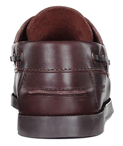 Leather ORANGEMARINE Scarpa marrone marrone Brown barca SEAMARINE uomo da qCqS8
