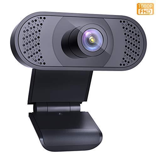 🥇 Wansview Webcam PC 1080P con Micrófono