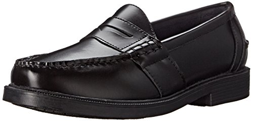 Nunn Bush Men's Lincoln Classic Penny Loafer Slip-On, Black, 10.5