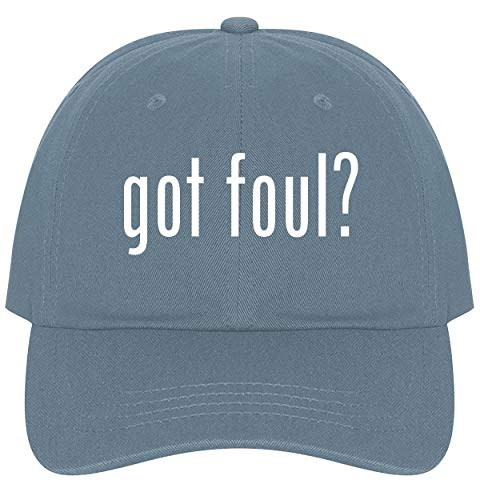 The Town Butler got Foul? - A Nice Comfortable Adjustable Dad Hat Cap, Light Blue ()