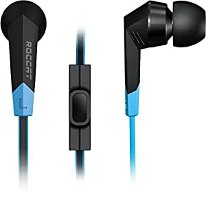 ROCCAT SYVA High Performance In-Ear Gaming Headset, Black