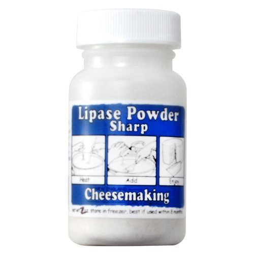 Cheese Making Supplies - Lipase Powder, Capilase (Very Sharp) - 1 Ounce (Kosher Goat Cheese compare prices)