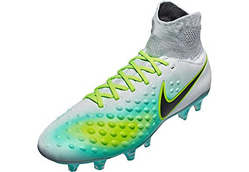 Nike Mens Magista Orden Ii Fg Fotbollsskor - (ren Platina / Ghost Grön)