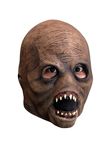 Ghoulish Productions Entity Alien Latex Mask Child Kids Slenderman Face Creature Myth Horror Cosplay ()